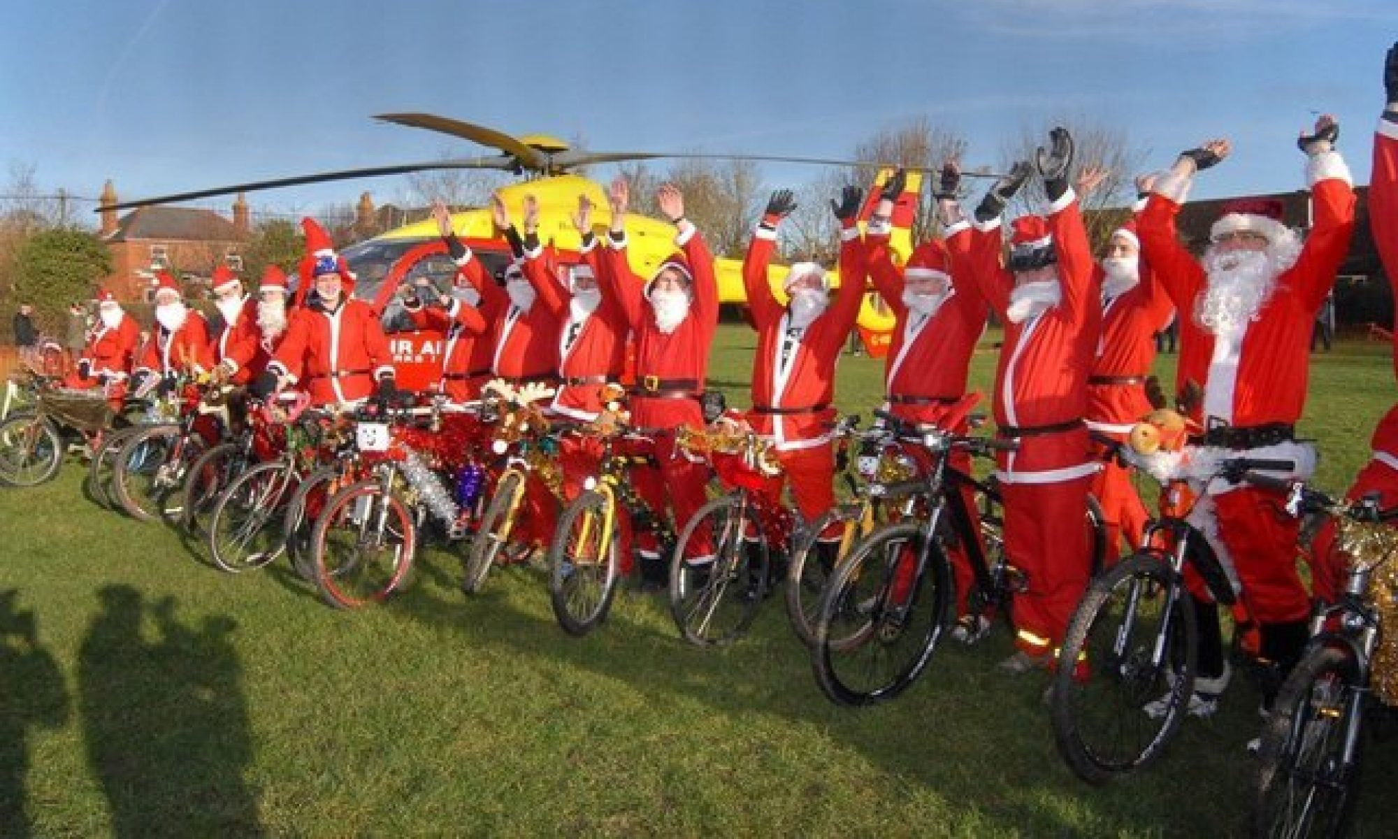 Burghfield Santa Cruise